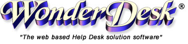 Web based customer service help desk software